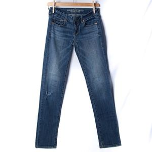 American Eagle Outfitters s 0 long, Skinny Stretch